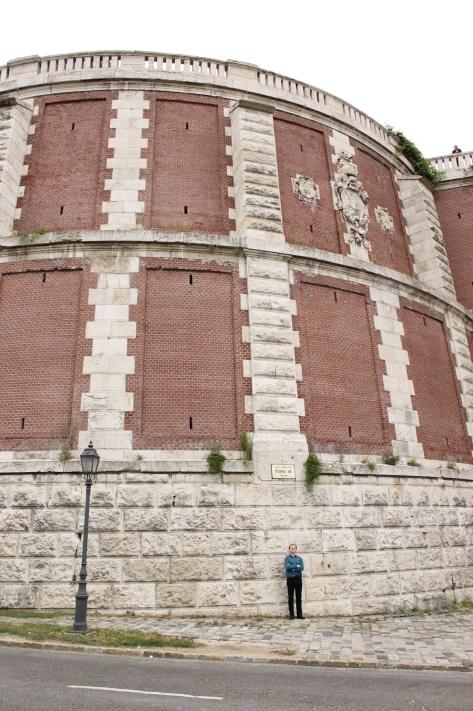 buda castle wall